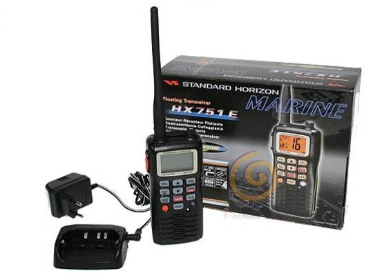 VHF Portátil HX 751 L